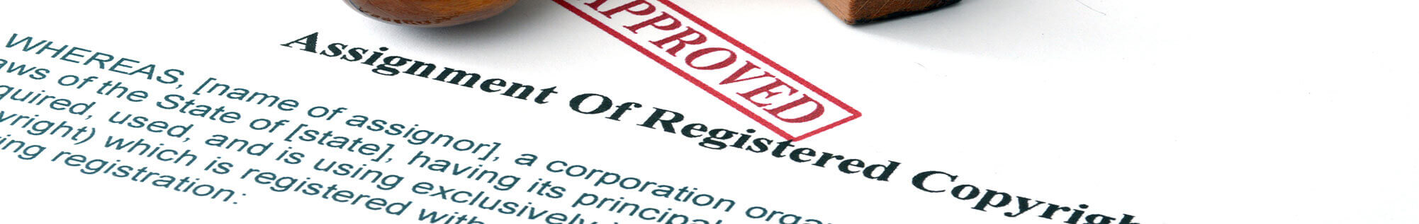 assignment of registered copyright document